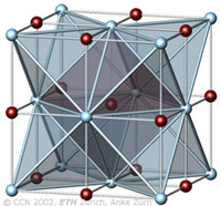 Halite crystal structure type